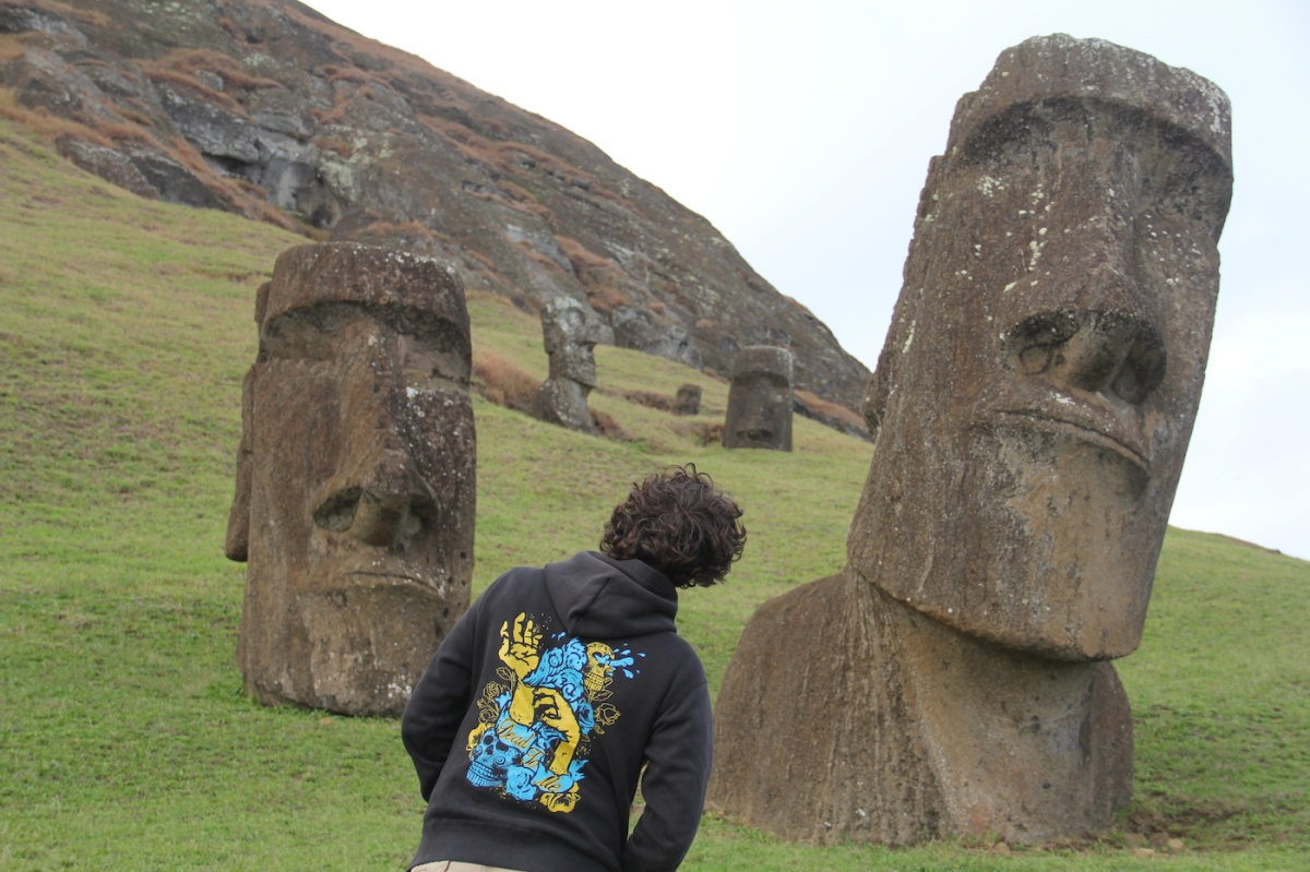 Why Do We Think Of The Easter Island Statues As Just Heads?
