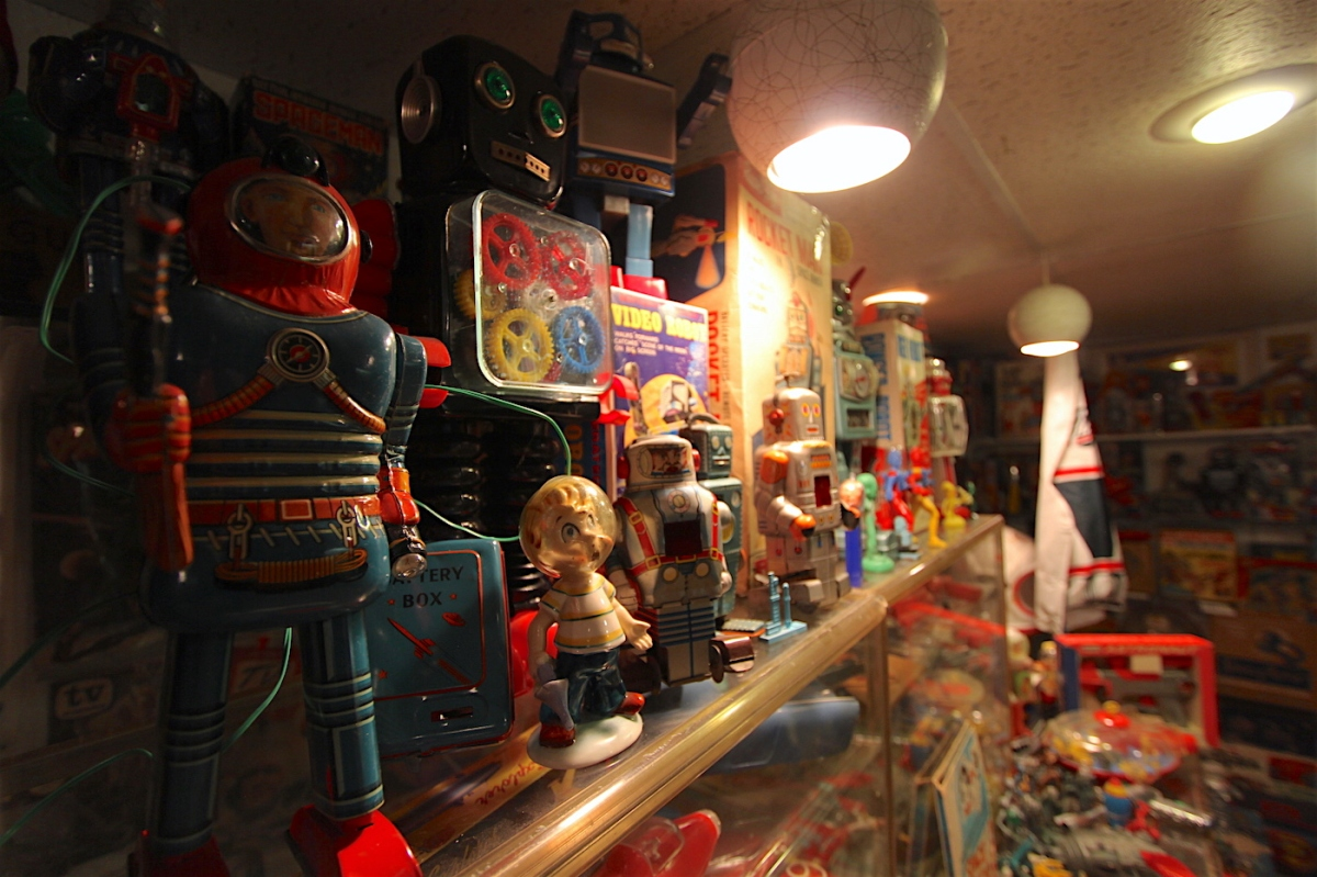Tesco Vee of The Meatmen Has An Insane Toy Museum