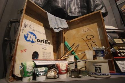 Gacy's art supplies
