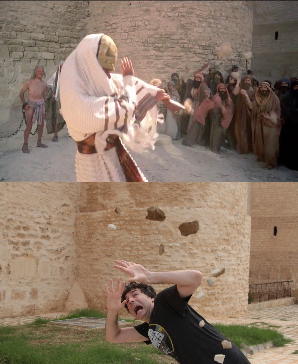 "Recreating Scenes From ""Life of Brian"" In Tunisia! (Part 1)"
