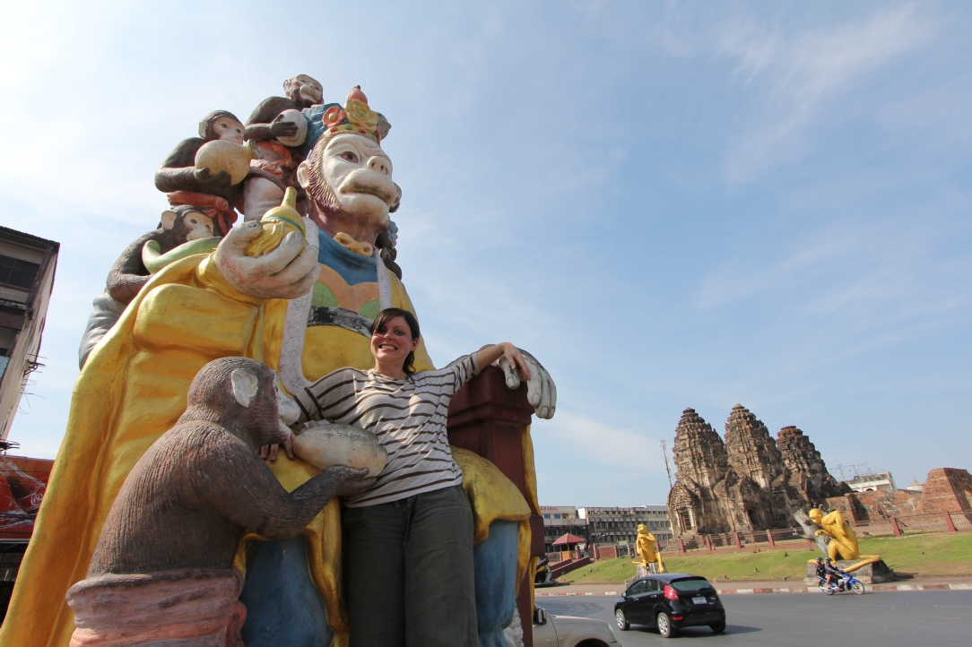 Lopburi Monkey Temple