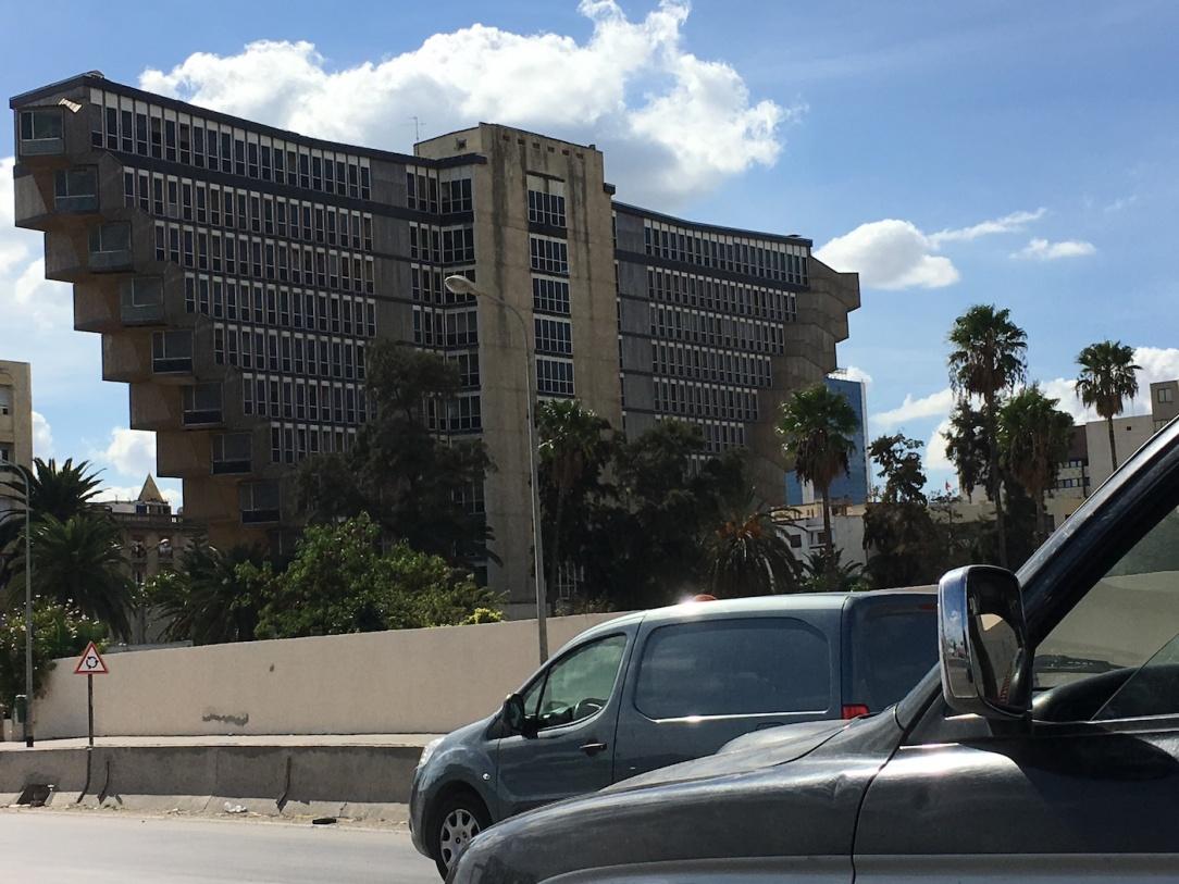 Star Wars Sandcrawler Hotel in Tunis, Tunisia