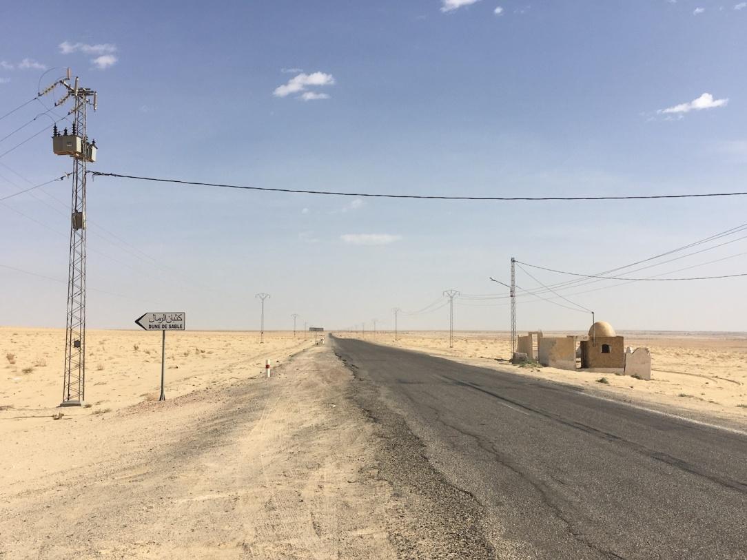 Star Wars Locations: The Krayt Dragon and C-3PO Escape Pod Landing Site near Tozeur, Tunisia