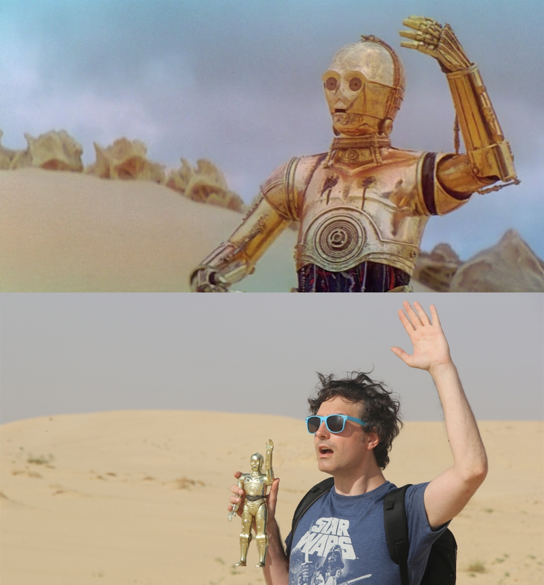 Star Wars Locations: The Krayt Dragon and C-3PO Escape Pod Landing Site near Tozeur, Tunisia