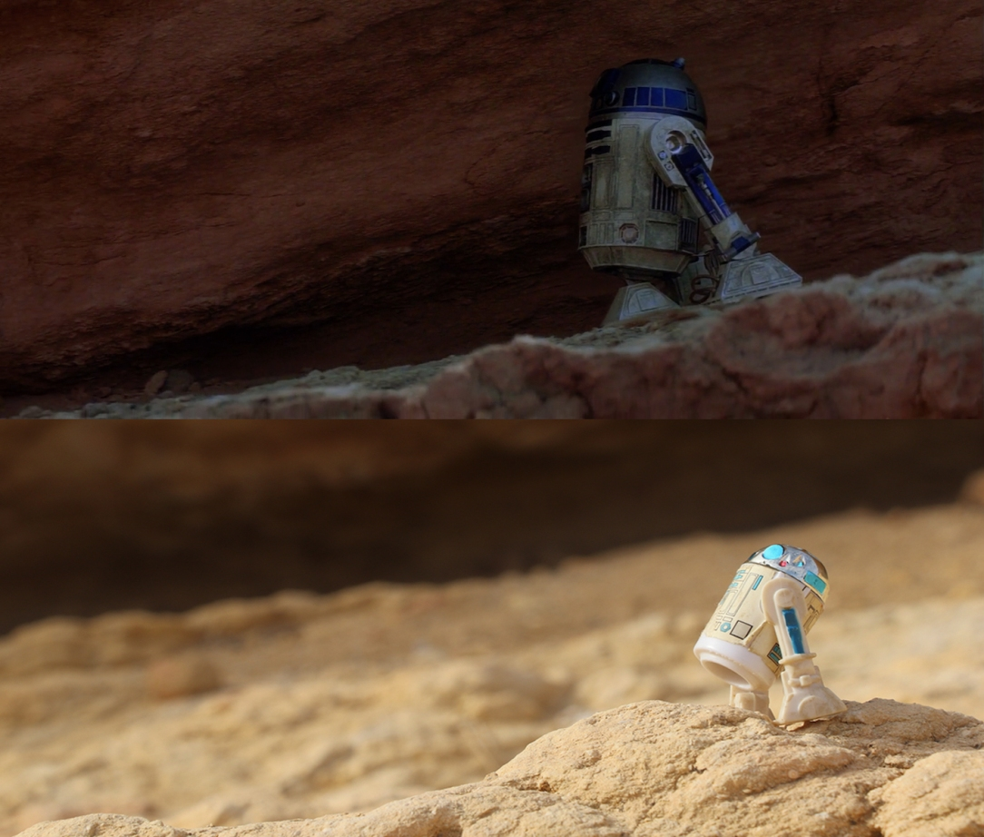 Star Wars Locations: Jawa rock in Sidi Bouhlel Canyon in Tunisia