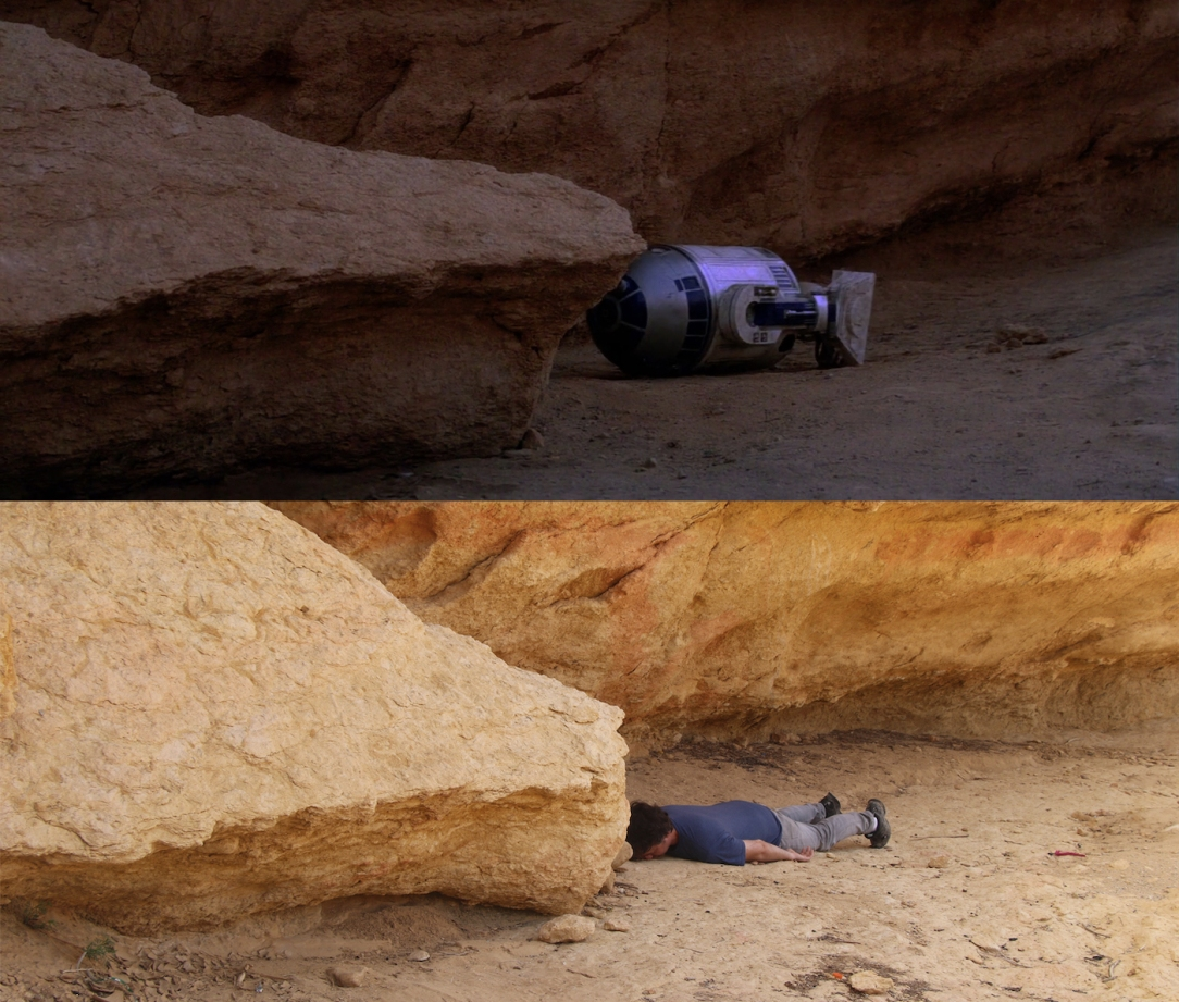 Star Wars Locations: Jawa rock in Sidi Bouhlel Canyon in Tunisia