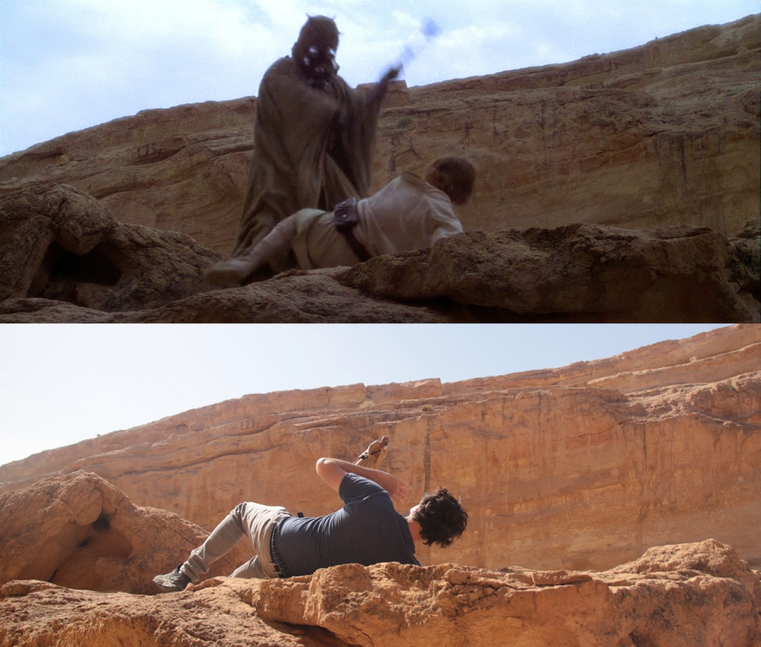 Star Wars Locations: Tusken Raider attack in Sidi Bouhlel Canyon in Tunisia