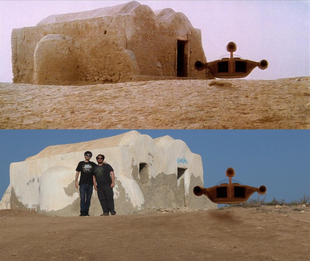 Star Wars Location: Obi-Wan Kenobi's House in Djerba, Tunisia