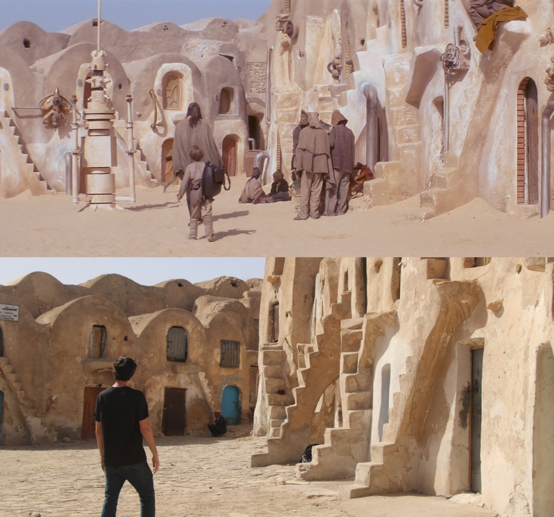Star Wars Locations: Anakin's Slave Quarters at Ksar Medenine in Tunisia