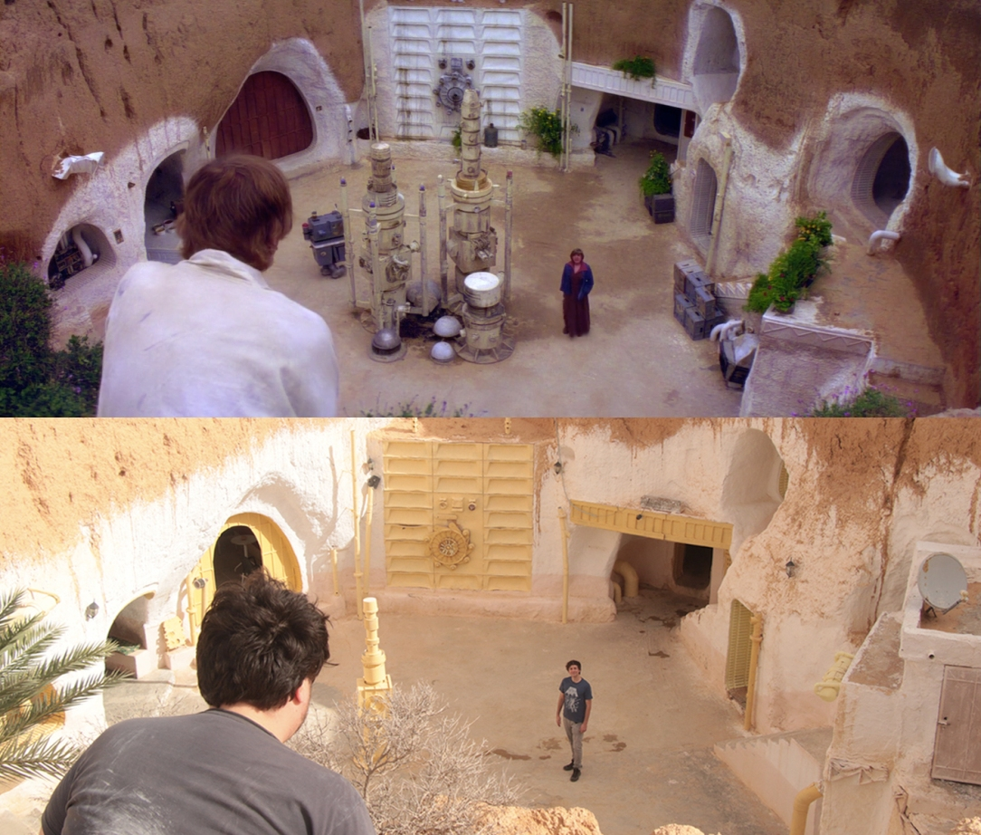 Star Wars Filming Locations: Talking to Aunt Beru at the Sidi Driss Hotel in Matmata, Tunisia