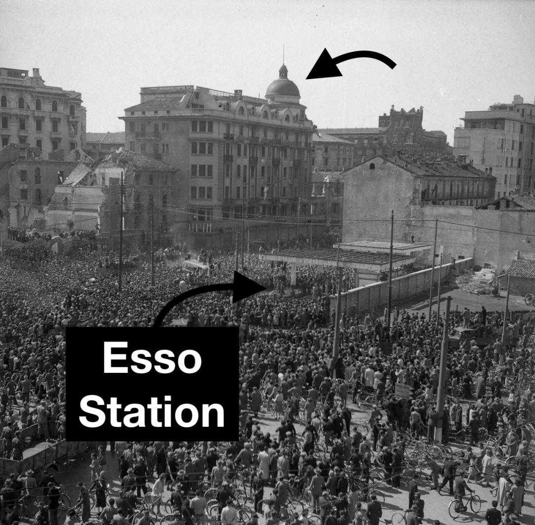 Piazzale Loreto in 1945